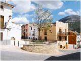Facheca village in the spring time