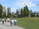Vanier Park in early September, Vancouver