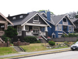 Craftsman bungalows on Point Grey Road, Vancouver