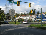 Boundary Road at Adanac Street, Vancouver-Burnaby border