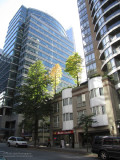 Melville Street near Bute Street, Downtown Vancouver