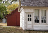 House,barn, and outhouse