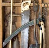 Tool shed still life.