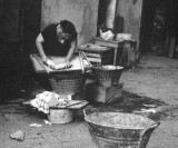 Hand wash-Naples 1955