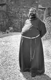 Monk -Courmayor, Italy
