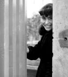 Sardinean girl in doorway 1956