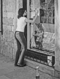 Window washer,  Dubrovnik