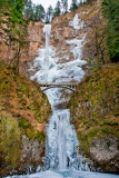 Columbia River Gorge, OR -- Falls and Ice