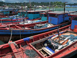 Fishing boats, Telukdalam