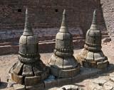 Stupa spires