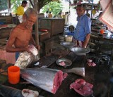 Fish market, Galle