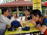 lunch at Tanjung Balau
