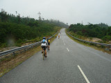 rain + headwind.... how nice....