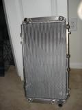9lb AL radiator to replace leaking ~14 OEM radiator.