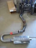 New exhaust floor mock-up.