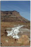 Evaporated salt ponds