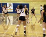 Queen's Vs Brock  W-Volleyball 11-16-07