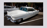 55 Caddie coupe white.