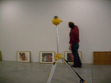 building up exhibit in M - 7