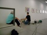 building up exhibit in M - 10