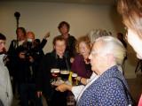 Zr. Jeanne Devos bij Vrouwen in t Zwart Leuven