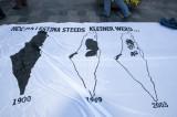 hoe Palestina steeds kleiner werd
