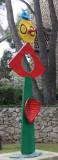 Joan Miró: Zärtlichkeit eines Vogels (La carícia d'un ocell )