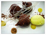 Buñuelos de chocolate