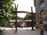 To the entry of Christiania.