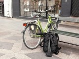 My transport ...and my photographic equipment,in the city of Copenhagen!