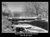 Winter Down By The Old Mill Stream