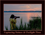 Capturing Nature At Twilight Time