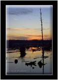 Sunset At The Montezuma National Wildlife Refuge & Wetland Complex