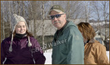 Doug Browning Long Time Sled Dog Racer With His Daughter