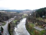 Jizera river valley .. Winter ...