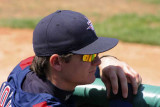 Relaxing in the Dugout