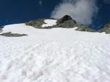 Walking a Snowfield