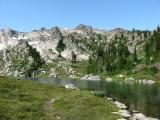 Towards Skokomish from Lake of Angels