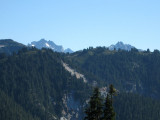 Towards Spickard/Redoubt From Hannegan Pass