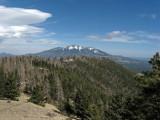 Distant San Francisco Peaks
