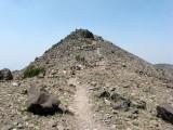 Scree Near Summit