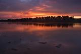 Sunrise on Illinois River