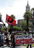 2010_04_05 One?  Two? Five? Protests in Arequipa