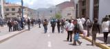 2008 Peru: Cusco Demonstration and Tear Gas