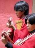 2008 Peru Return from Puno Musicians