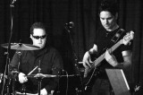 IMG_2201 Chad Melchert - drums, Dustin Roy - bass