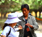 2. Assault on a Tibetan employee by a female tourist from China, at the Summer Palace, Lhasa Tibet.