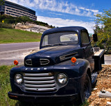 Thanks to a viewer of this gallery, this truck has been identified as a 1948 Ford