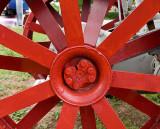 The rear wheel hub