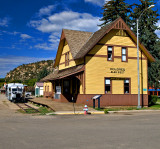 Dolores Train Depot